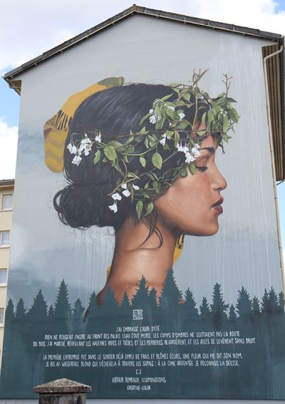 Fresque Aube. Photo Ardennes, toujours...