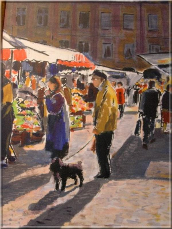 Œuvre de l'artiste peintre Ardennais, Simon COCU