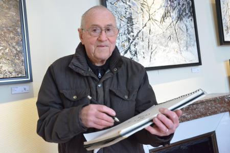 Simon Cocu, artiste peintre et dessinateur Ardennais